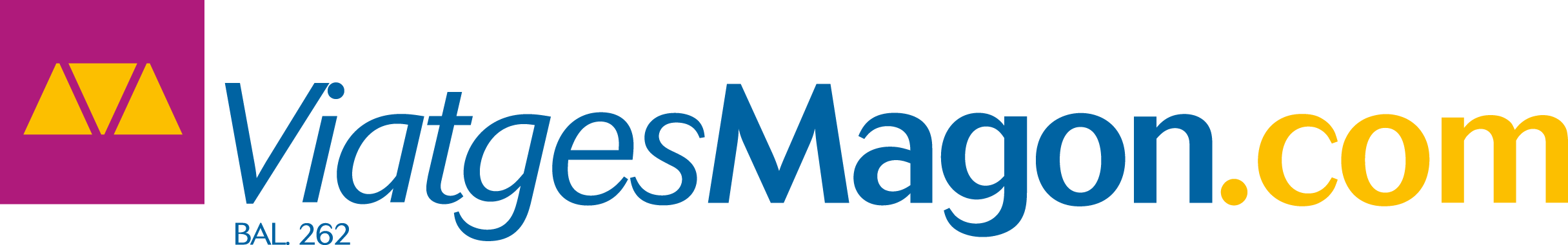 Logo ViatgesMagon
