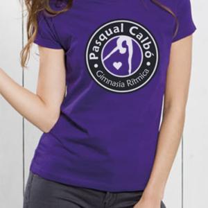 Camiseta Pasqualera Lila MUJER